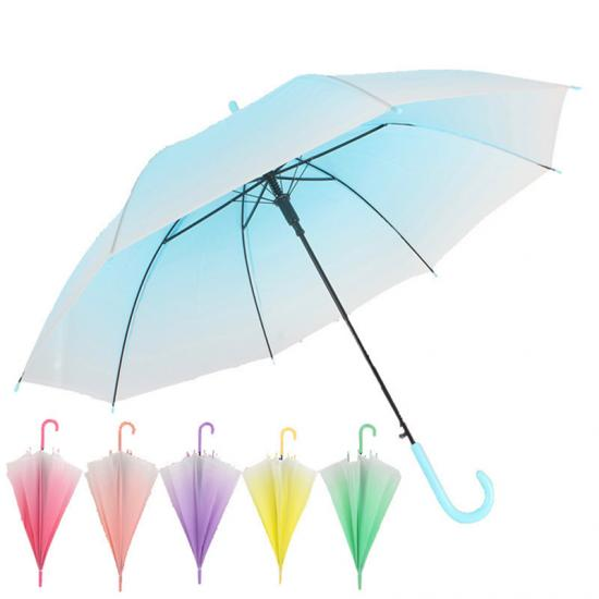 Trimmed Binding Transparent Clear Umbrella